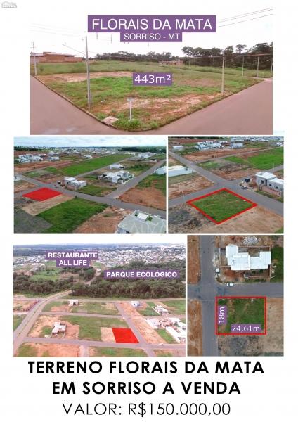 Terreno a venda no FLORAIS DA MATA em Sorriso/MT