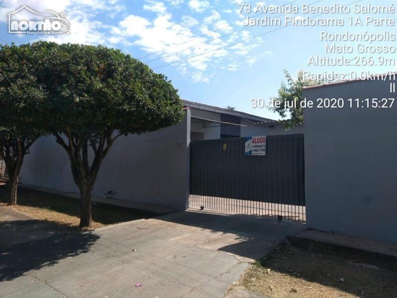 Casa para locação no JARDIM PINDORAMA em Rondonópolis/MT