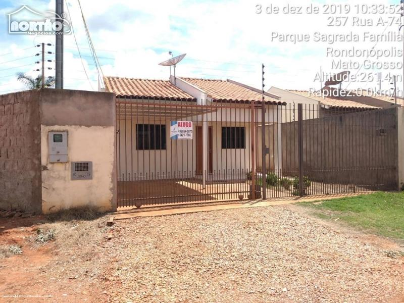 Casa para locação no SAGRADA FAMÍLIA em Rondonópolis/MT
