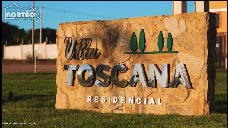 Terreno a venda no CONDOMÍNIO RESIDENCIAL VILA TOSCANA em Rondonópolis/MT