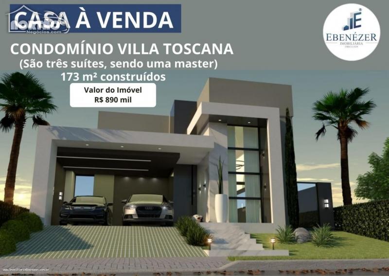 Casa a venda no CONDOMÍNIO VILLA TOSCANA em Rondonópolis/MT