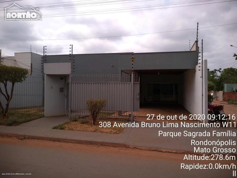 Casa para locação no CHÁCARA PARAÍSO em Rondonópolis/MT