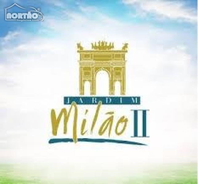 TERRENO a venda no JARDIM MILÃO II em Sinop/MT